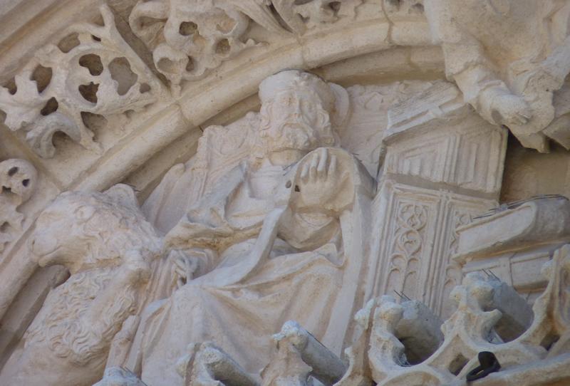 Resultado de imagen de Los evangelistas de la fachada de San Pablo